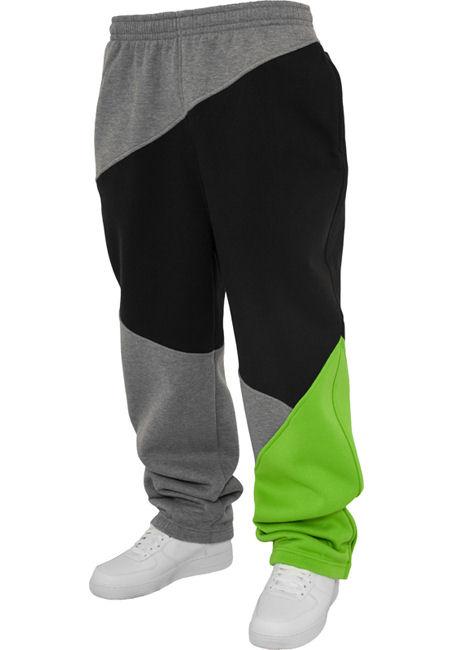 Urban Classics Herren Zig Zag Sweatpants TB286 Hose Jogginghose Trainingshose
