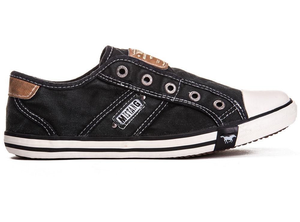 mustang shoes damen schuhe 1099 401 9 schwarz halbschuhe slipper sneaker schuh ebay. Black Bedroom Furniture Sets. Home Design Ideas