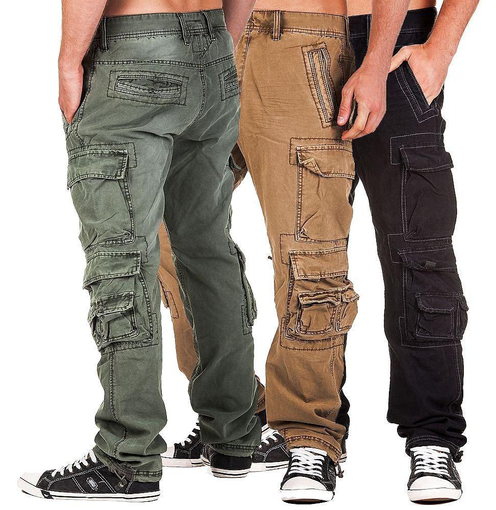 jet lag herren cargohose 008 herrenhose cargo hose m nnerhose herrenjeans jeans ebay. Black Bedroom Furniture Sets. Home Design Ideas