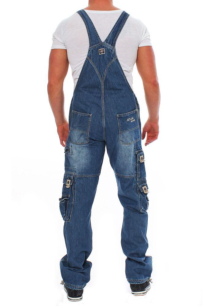 latzhose jeans herren jet lag herren latz jeans overall. Black Bedroom Furniture Sets. Home Design Ideas