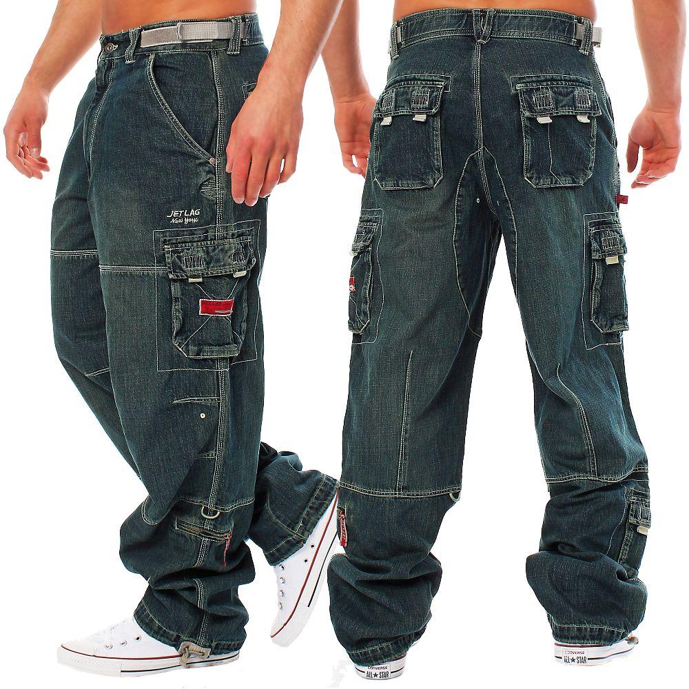 jet lag herren cargohose safety navy hose cargo jeanshose herrenhose pants ebay. Black Bedroom Furniture Sets. Home Design Ideas