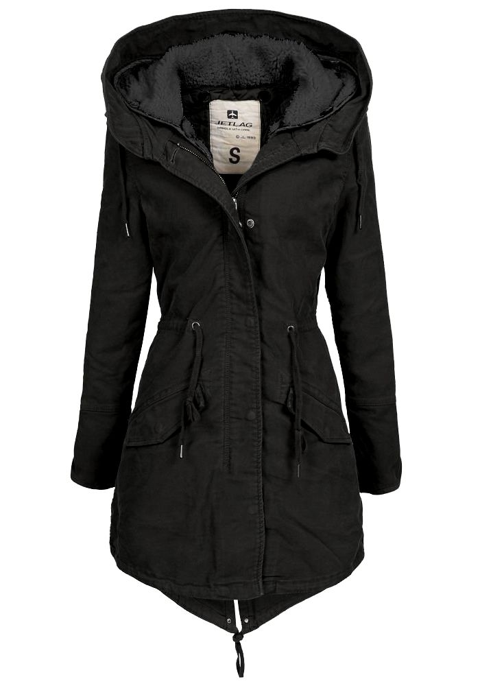 jet lag damen winterparka fw120 damenparka damenmantel damenjacke jacke mantel ebay. Black Bedroom Furniture Sets. Home Design Ideas