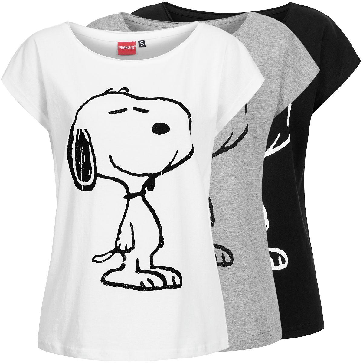 sublevel damen t shirt snoopy lsl 218 damenshirt shirt kurzarmshirt oversize ebay. Black Bedroom Furniture Sets. Home Design Ideas