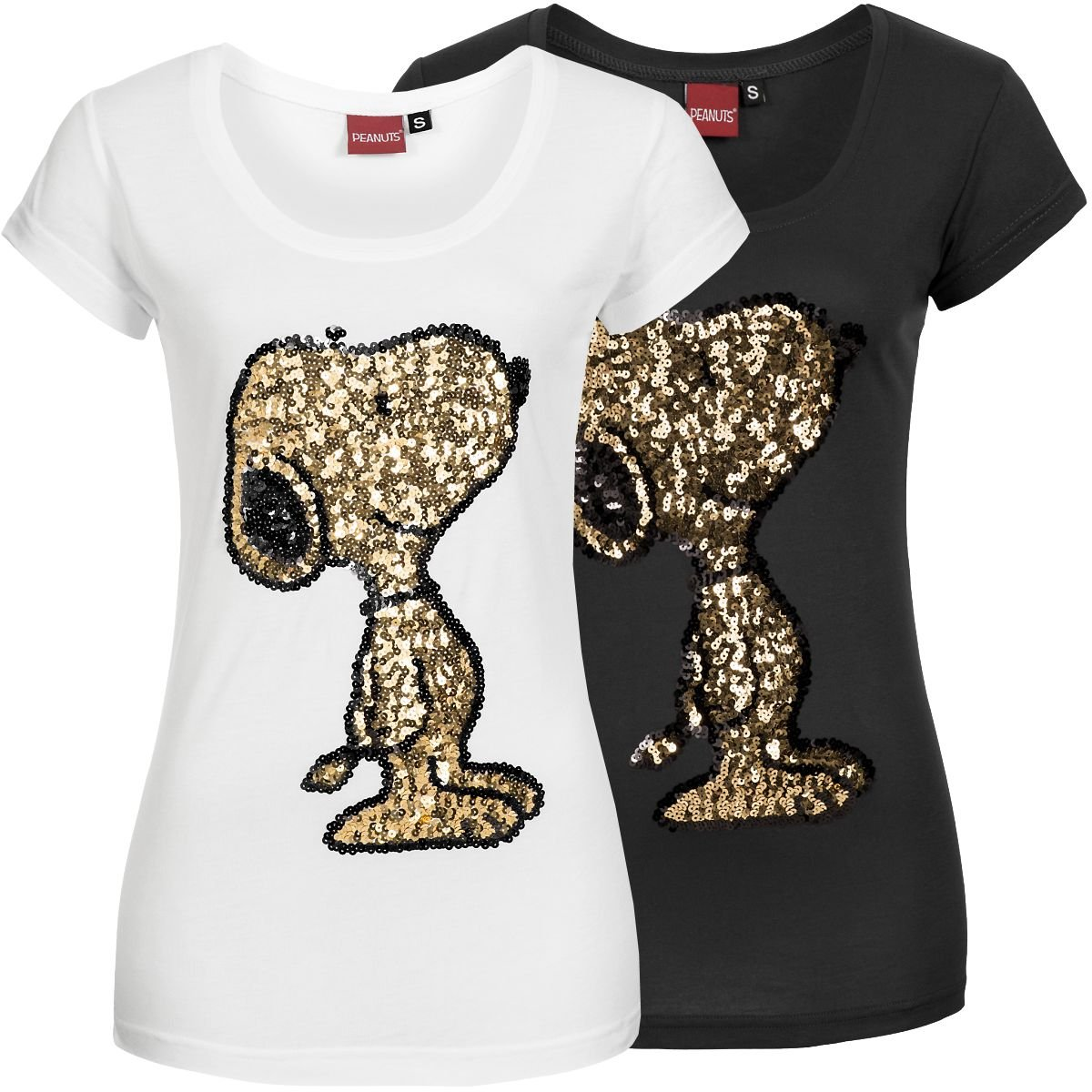 sublevel damen t shirt snoopy lsl 238 damenshirt kurzarm. Black Bedroom Furniture Sets. Home Design Ideas