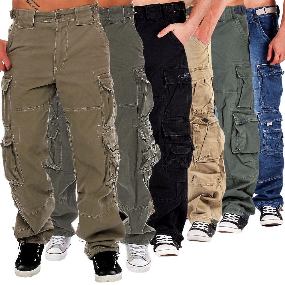jet lag herren cargohose 007 hose m nner herrenhose jeans jeanshose outdoor zz. Black Bedroom Furniture Sets. Home Design Ideas
