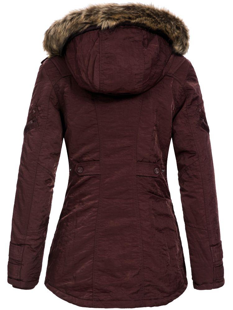 Jetlag Damen Winter Mantel lange warme Jacke Parka Winterjacke SW61a NEU B59