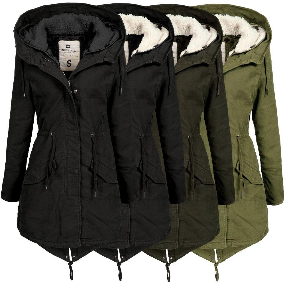 Details about Jet LAG LADIES WINTER PARKA fw120 Womens Parka Ladies Coat Womens Jacket Coat show original title