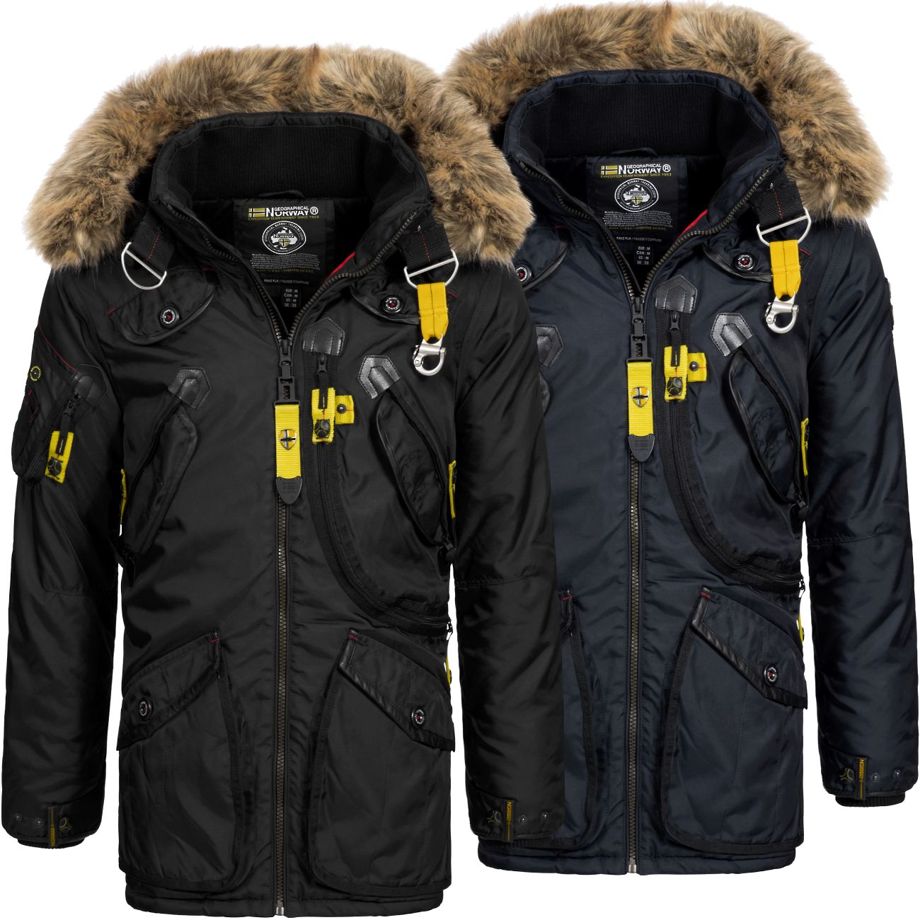 geographical norway herren winterparka arcos herrenjacke. Black Bedroom Furniture Sets. Home Design Ideas