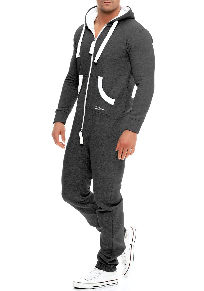 herren jumpsuit top fuel overall einteiler hausanzug sweatoverall kapuzenanzug ebay. Black Bedroom Furniture Sets. Home Design Ideas