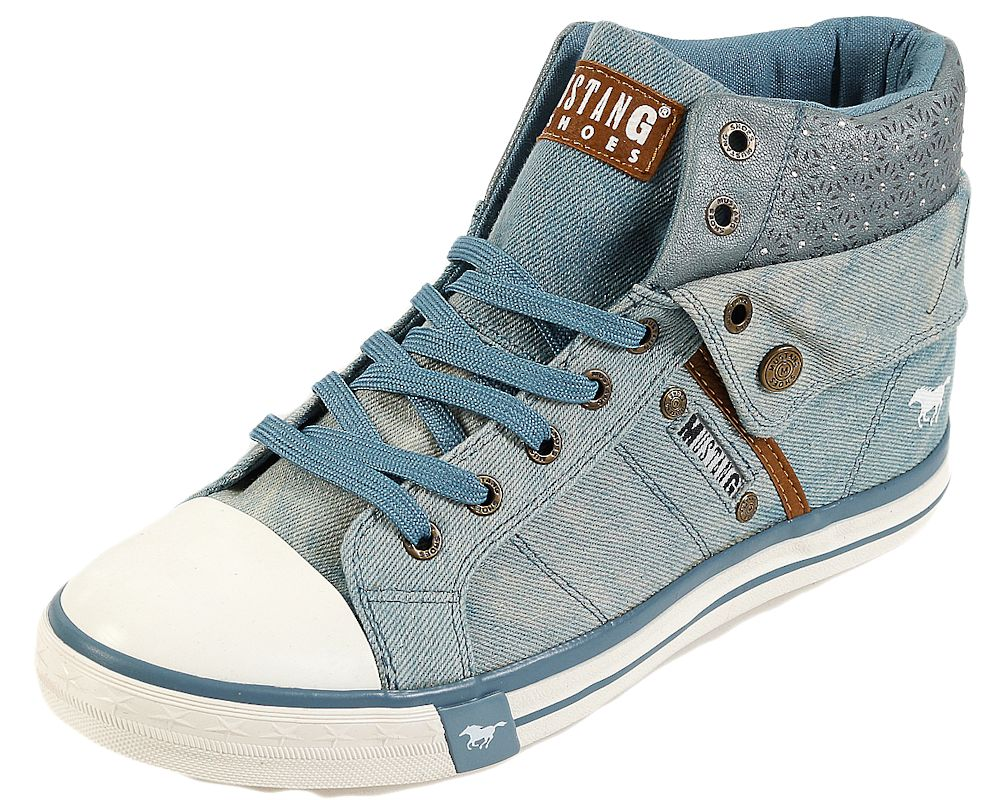 best service 404fb 36229 Mustang Damen 1146-514-88 High-Top Sneaker Schuhe