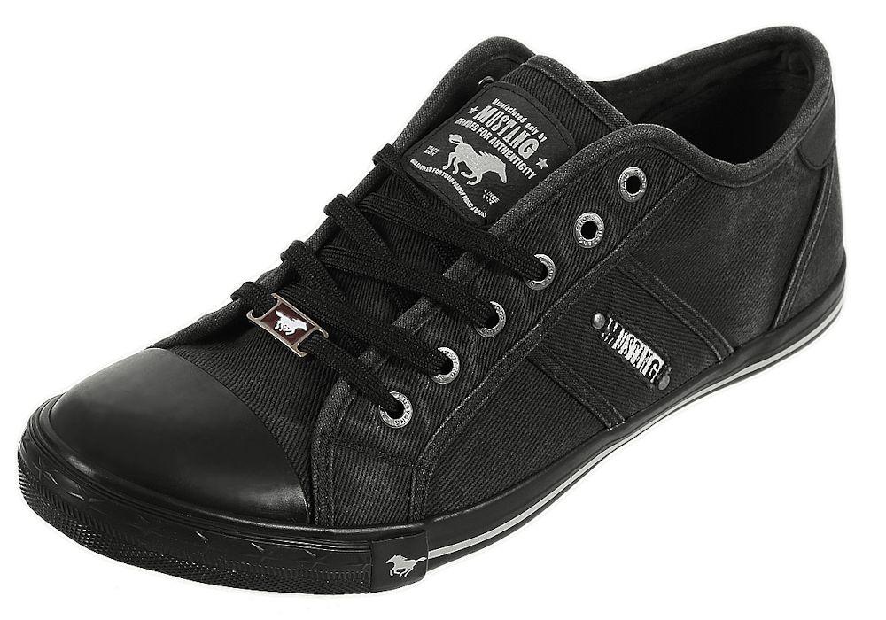 mustang shoes herren schuhe 4058 305 halb turn sneaker m nner schn rer basic ebay. Black Bedroom Furniture Sets. Home Design Ideas