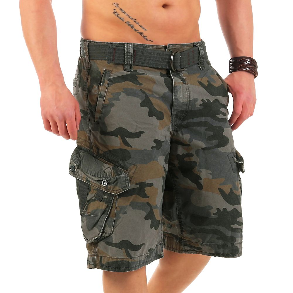 jet lag herren cargo shorts take off 3 cement camouflage w32 kurze hose bermuda ebay. Black Bedroom Furniture Sets. Home Design Ideas