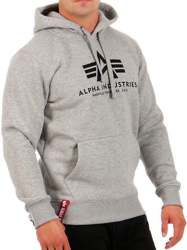 alpha industries herren hoodie basic 178312 hoody. Black Bedroom Furniture Sets. Home Design Ideas