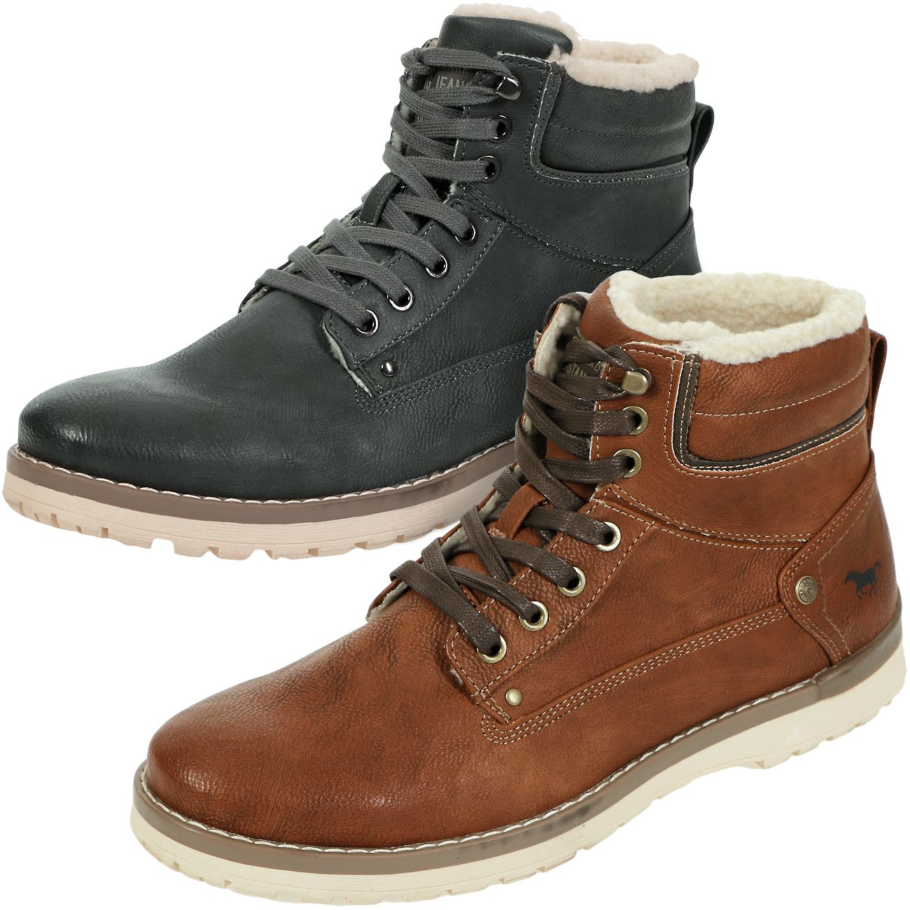 Details about Mustang Men's Winter Shoes Lined Boots Winter Boots Boots 4092 609 show original title