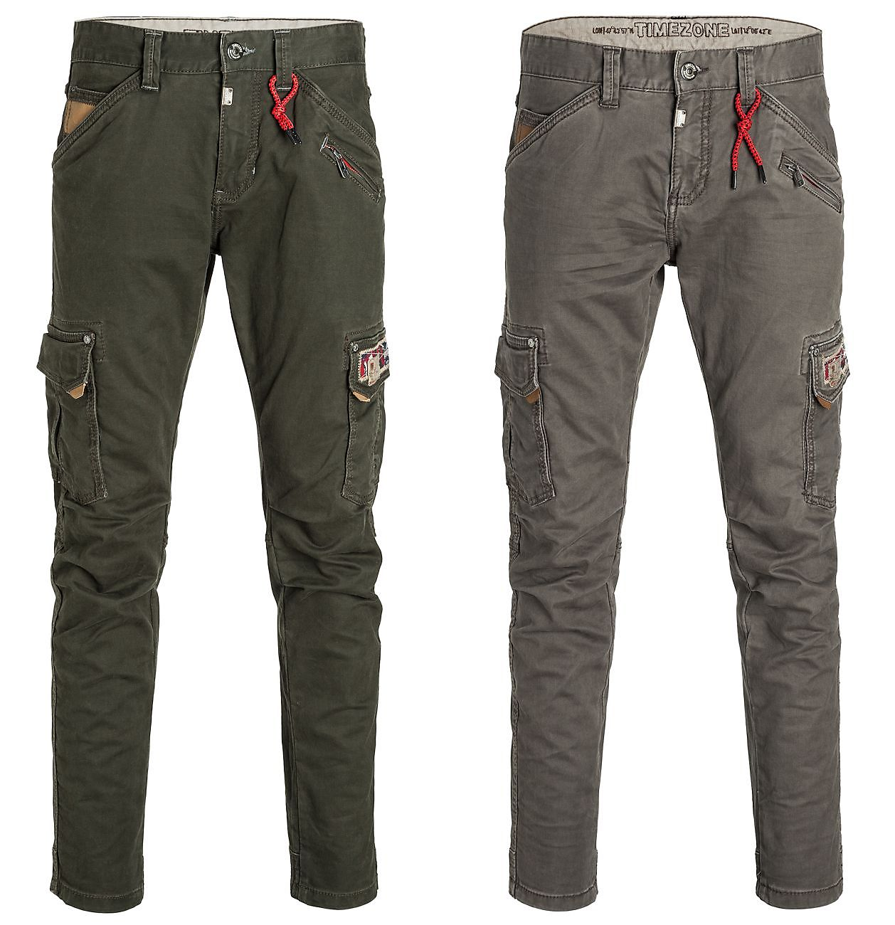 Details about Timezone Men's Cargo Pants 26 10035 Roger Regular Fit Slim Leg Mens Trousers Pants show original title