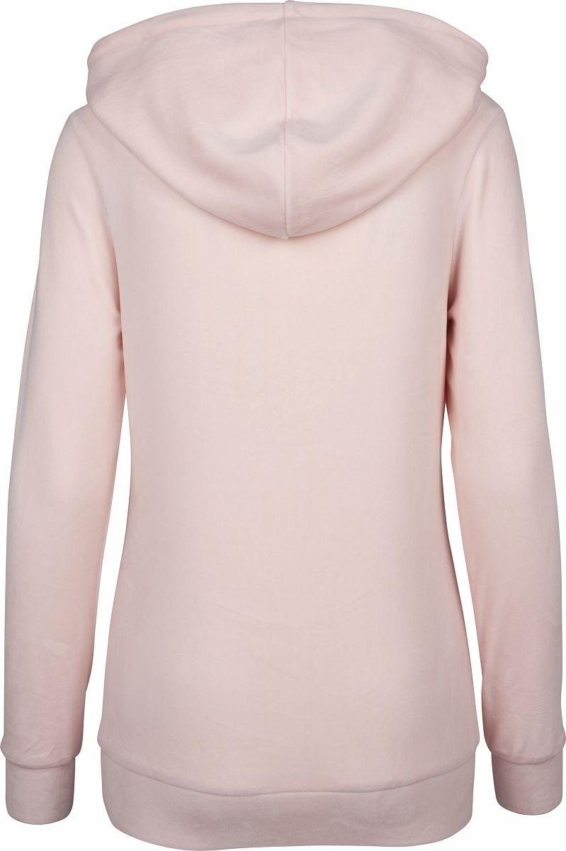 Urban Classics Damen Samt Hoodie TB1731 Kapuze Pullover Sweatshirt Freizeit