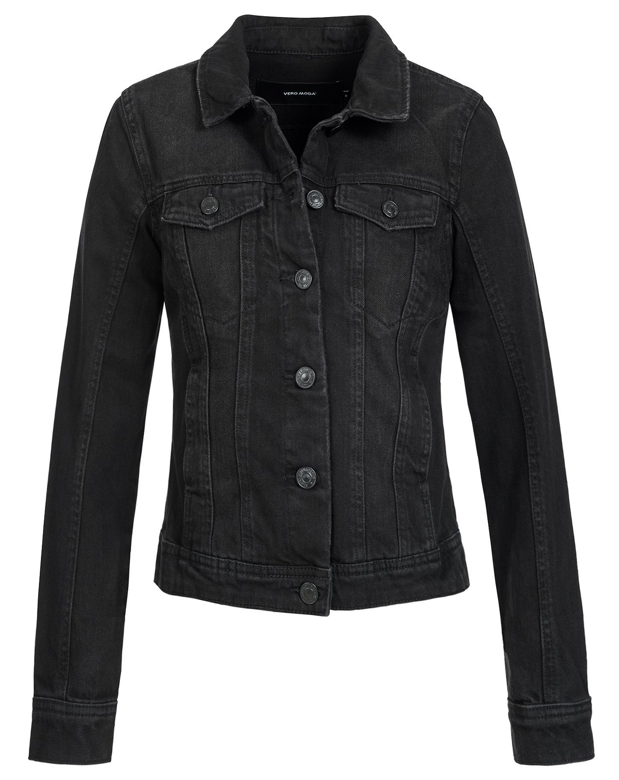 vero moda damen jeansjacke danger bergangs fr hling kurz denim basic biker ebay. Black Bedroom Furniture Sets. Home Design Ideas