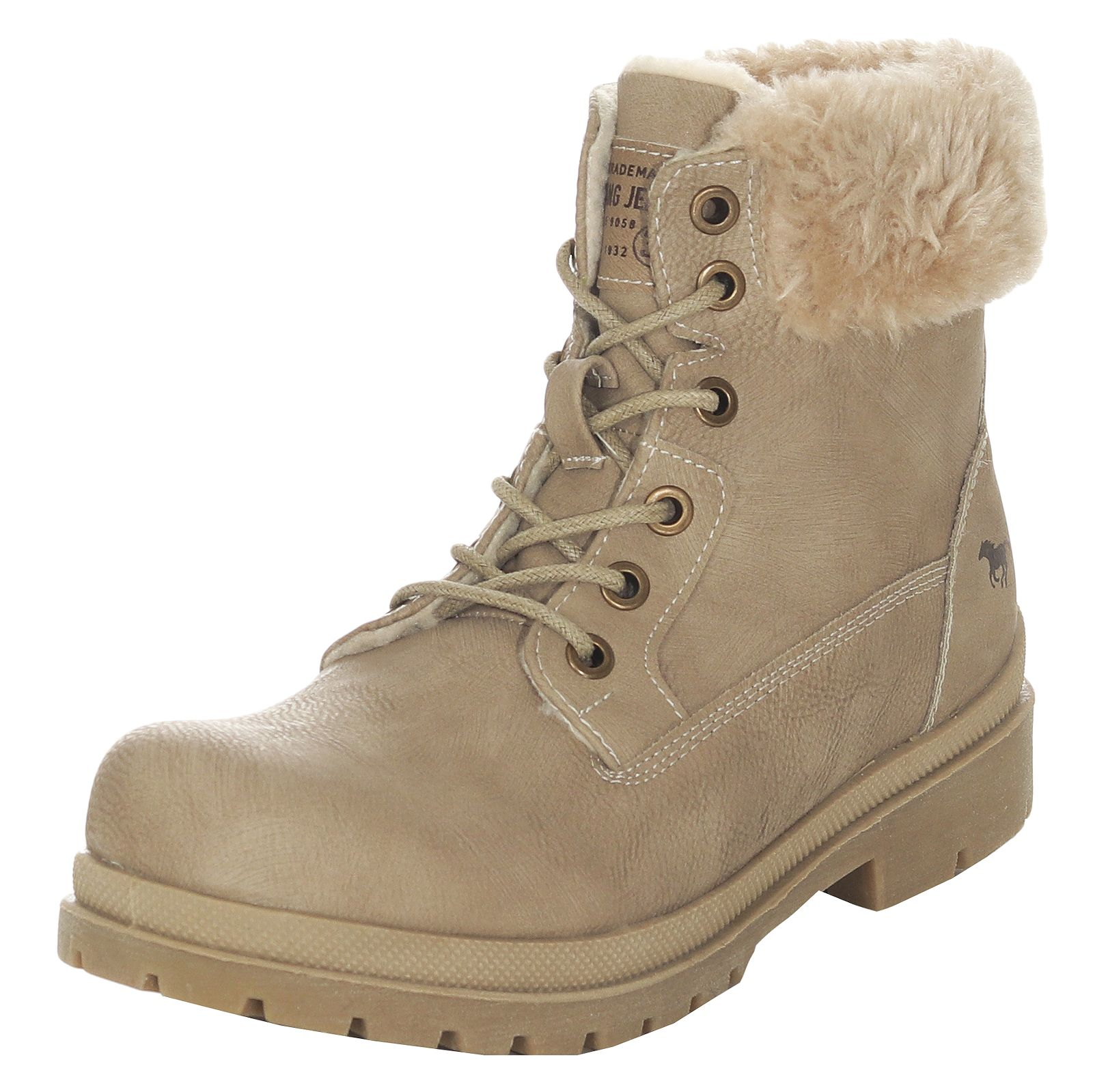 Mustang Damen Winter Schuhe Stiefel Ankle Boots Booties ... 9653e2ce1b