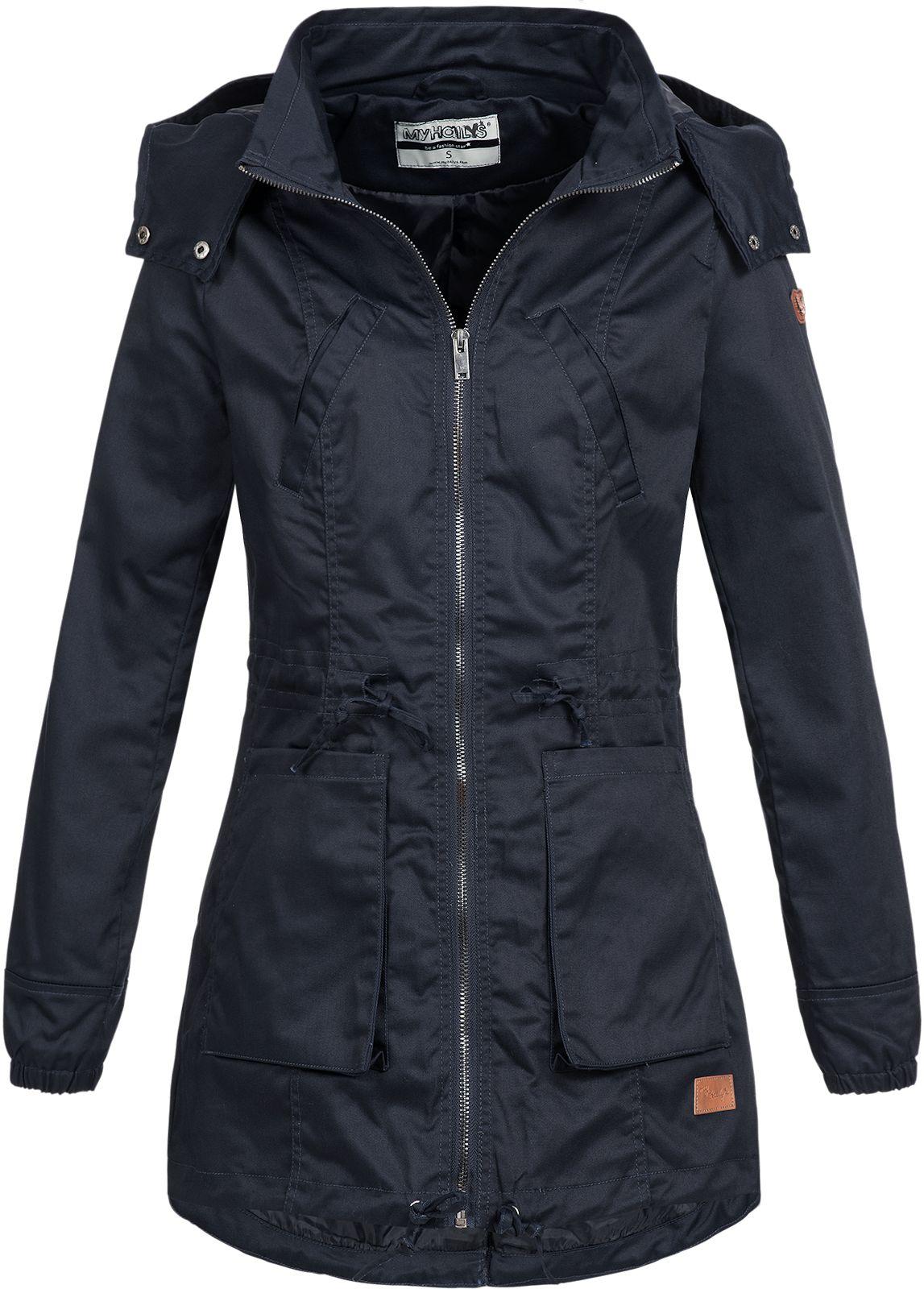 Details zu Hailys Damen Jacke Übergangsjacke Damenjacke Kapuze Casual Sonja