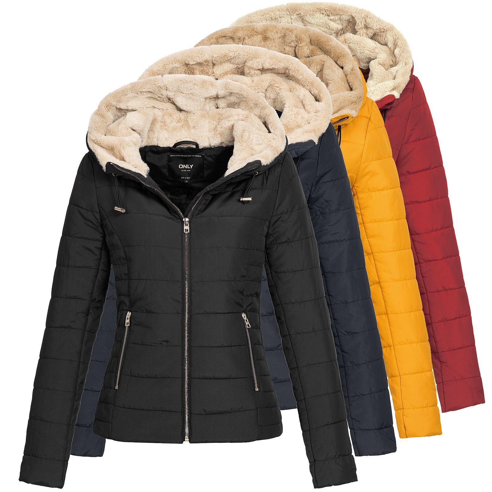 premium selection bab80 833db Details zu Only Damen Steppjacke Jacke Winterjacke Damenjacke  Übergangsjacke Shelly