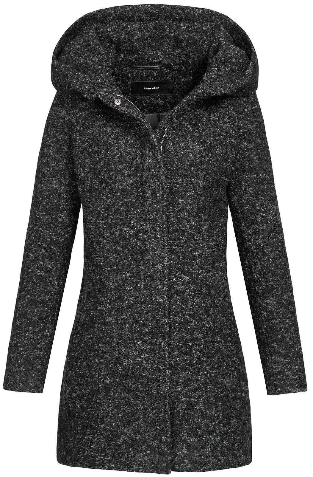 elegantes Aussehen modische Muster Mode Details zu Vero Moda Damen Mantel Parka Wollmantel Kurzmantel Jacke  Wintermantel Verodona