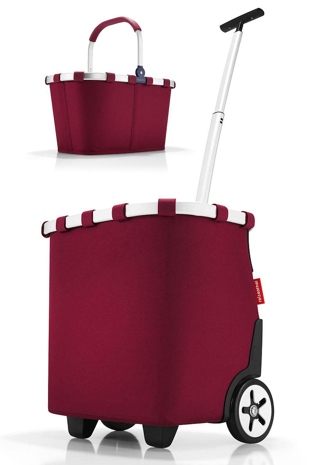Herrlich Reisenthel Carrycruiser Barock Taupe 40 Liter Cruiser Trolley Einkaufstasche Reiseaccessoires
