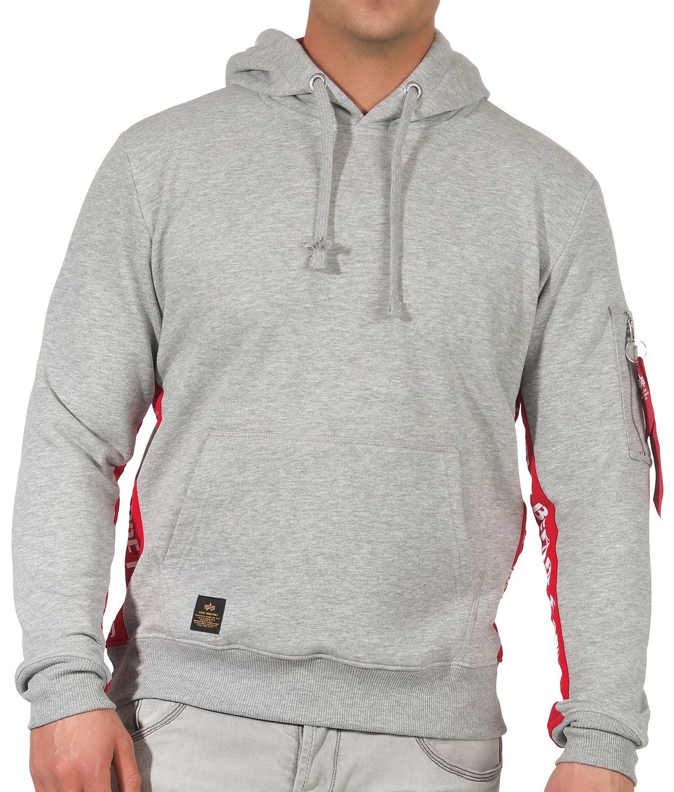 Alpha Industries Herren Kapuzenpullover Pullover Hoodie Sweater 196306