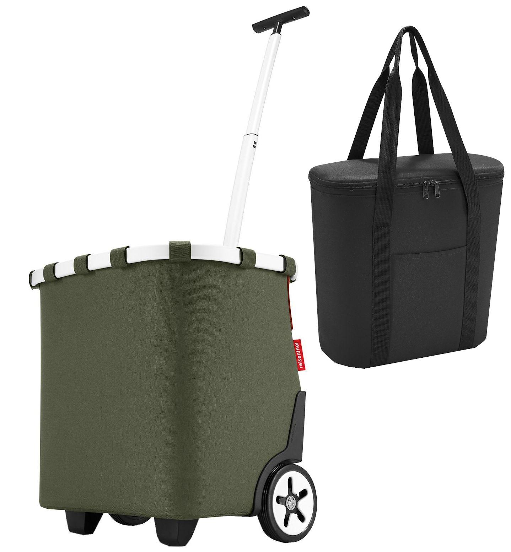 Herrlich Reisenthel Carrycruiser Barock Taupe 40 Liter Cruiser Trolley Einkaufstasche Einkaufsroller