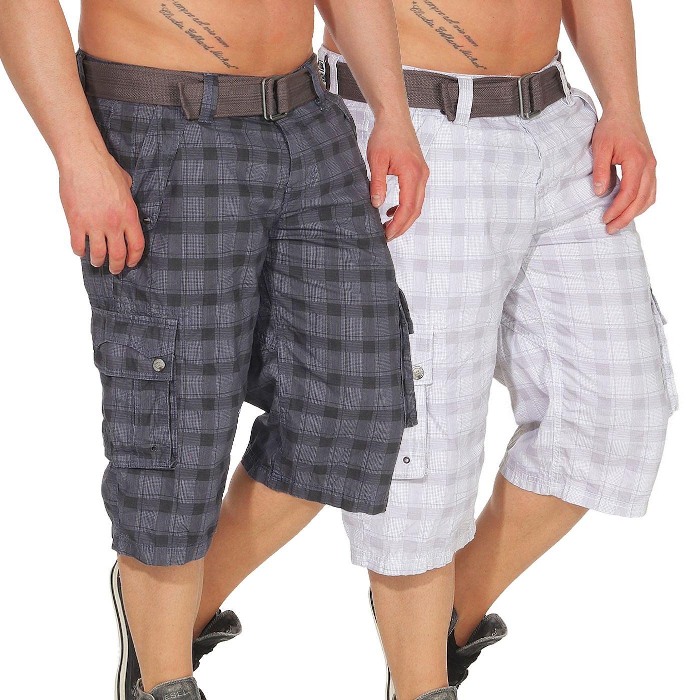Herren Shorts Joggshorts kurze Hose Jeansshorts Sweat Pants Sublevel LSL-335