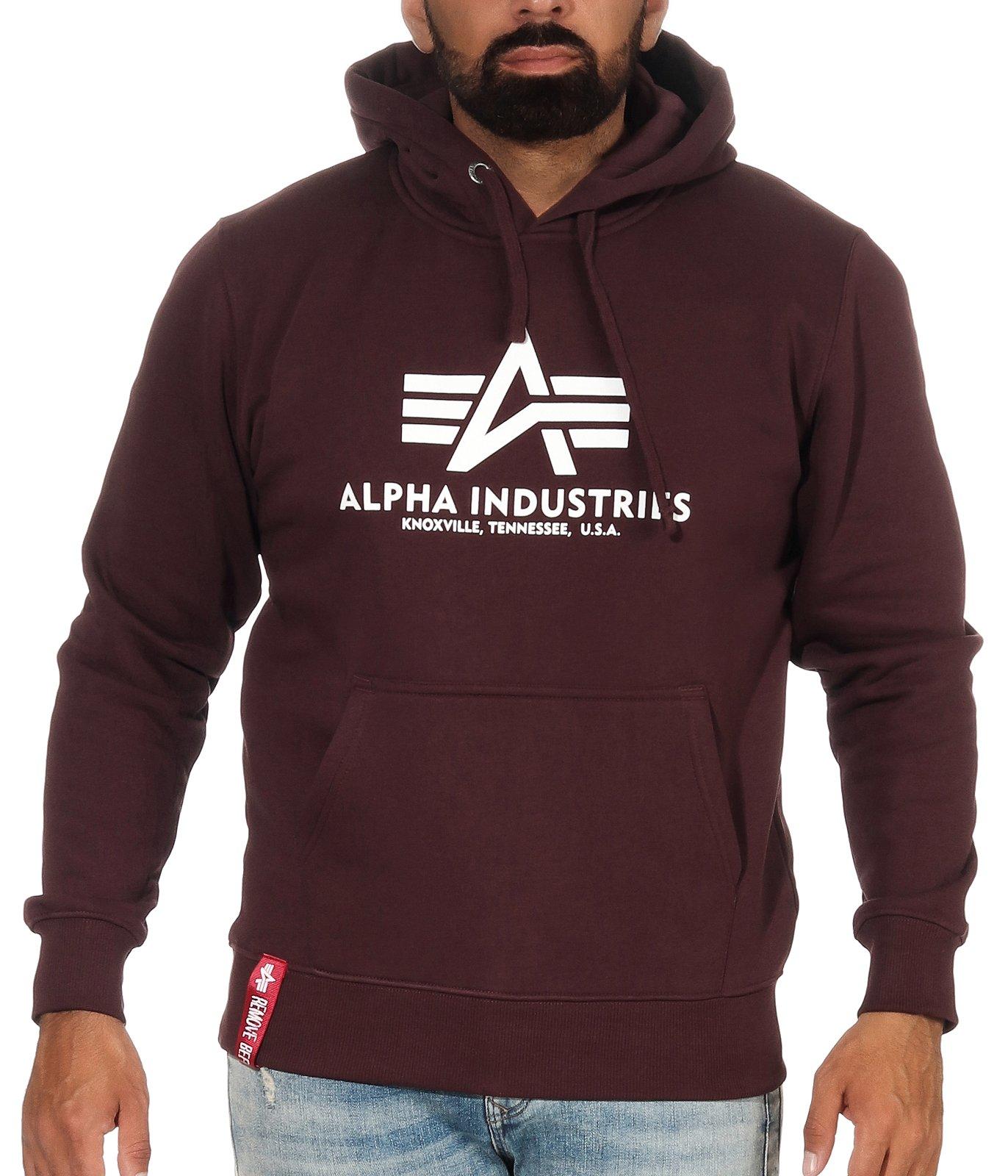 Alpha Industries Pullover Gr. XXL blau vintage Herren Supreme