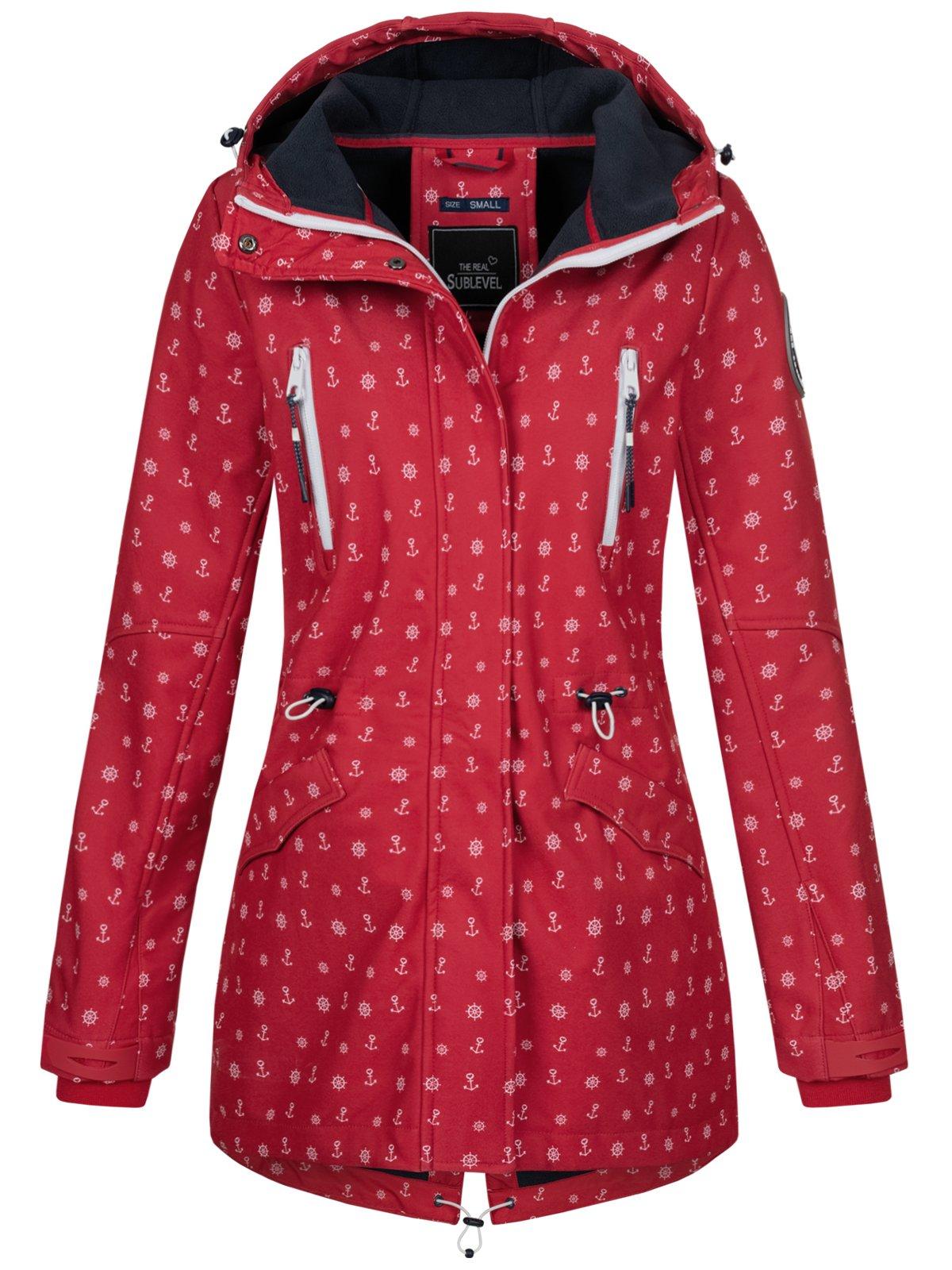 Details zu Sublevel Damen Jacke Softshelljacke Mantel Outdoor Damenjacke Anker LSL 367