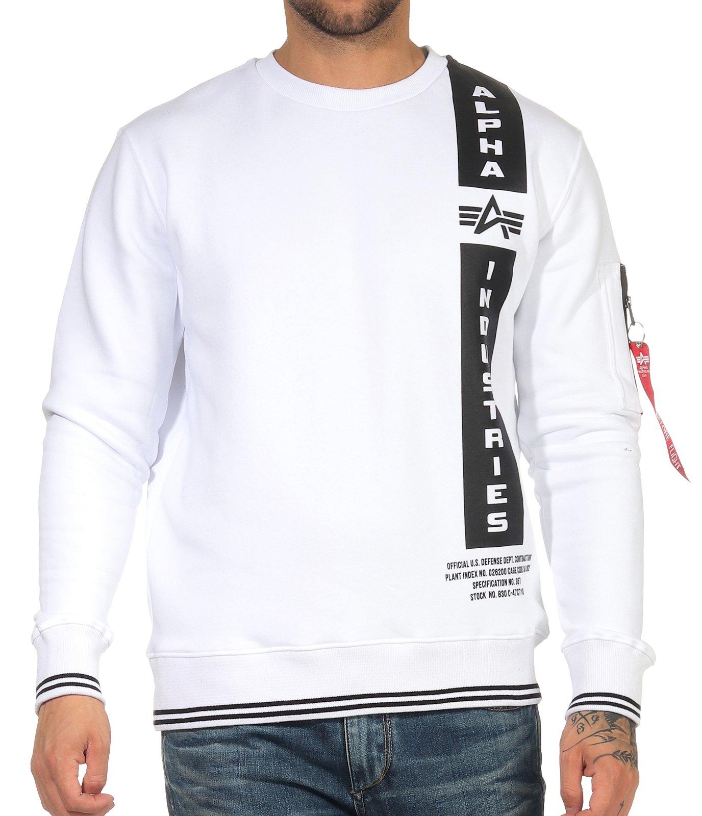 Alpha Industries Herren Pullover Sweatshirt Pulli Herrenpullover Nasa 198301