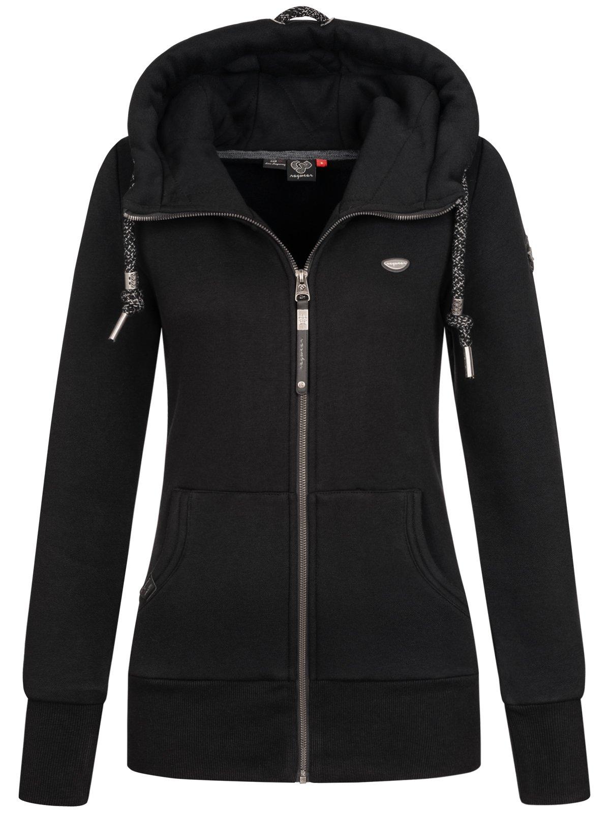 Ragwear Damen Sweatjacke Jacke Sweater Kapuze Damenjacke vegan Neska Zip