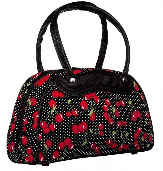 Top Fuel Fashion Oldschool Handtasche Cherry III Kirschen