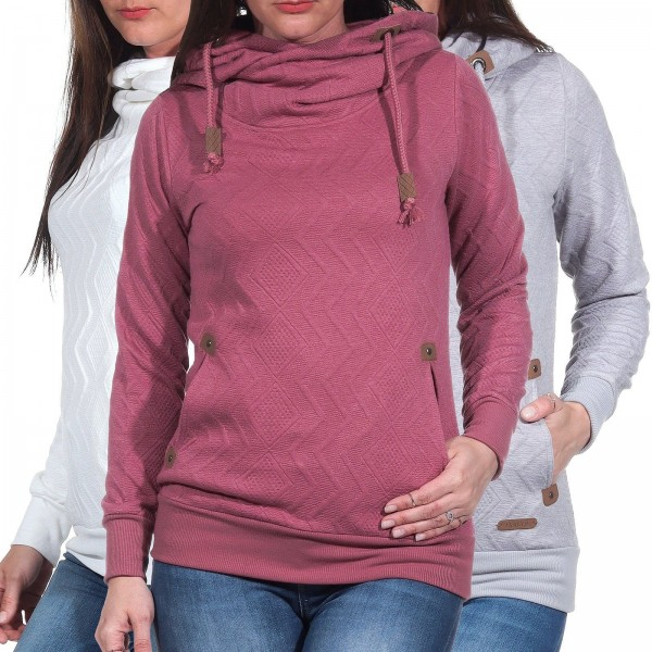 Hailys Damen Kapuzen-Sweatshirt Janette