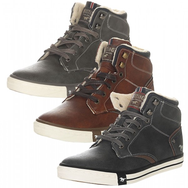 Mustang Shoes Herren Winterschuhe 4072-602