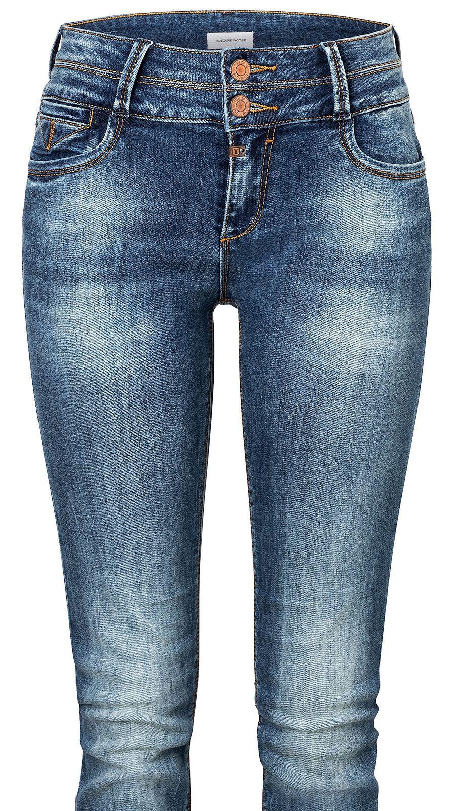 Timezone Damen Jeans 17 10025 Enya silky vintage wash Slim