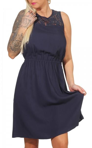 Vero Moda Damen Kleid Boca navy