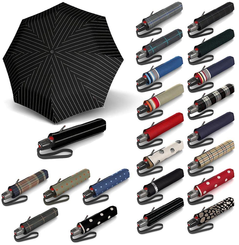 Knirps T.200 Medium Duomatic Regenschirm Accessoire Variety Jade Neu