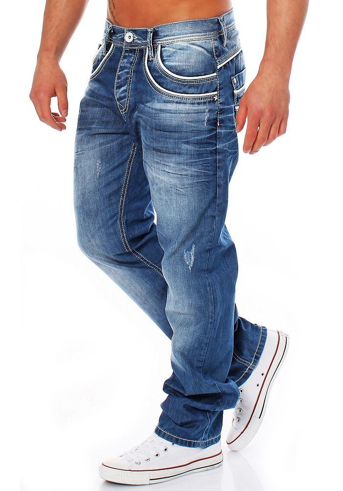 Cipo & Baxx Herren Jeans C 1127