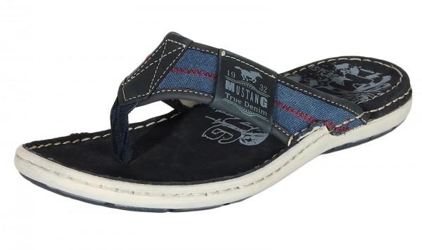 Mustang Shoes Herren Schuhe Pantoletten 4923-703-820 navy