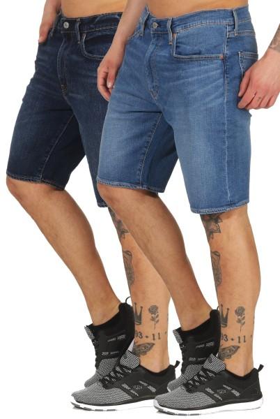 Levi`s Herren Jeans Shorts 502 32792 slim