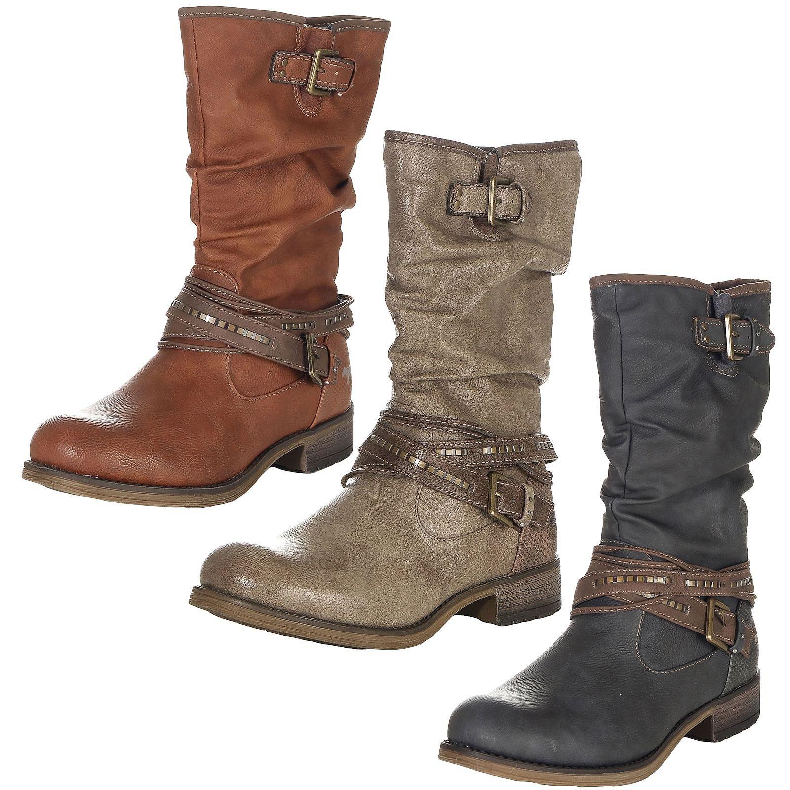 super cute 3a4c3 202a0 Mustang Shoes Damen Schuhe Stiefel 1139-624