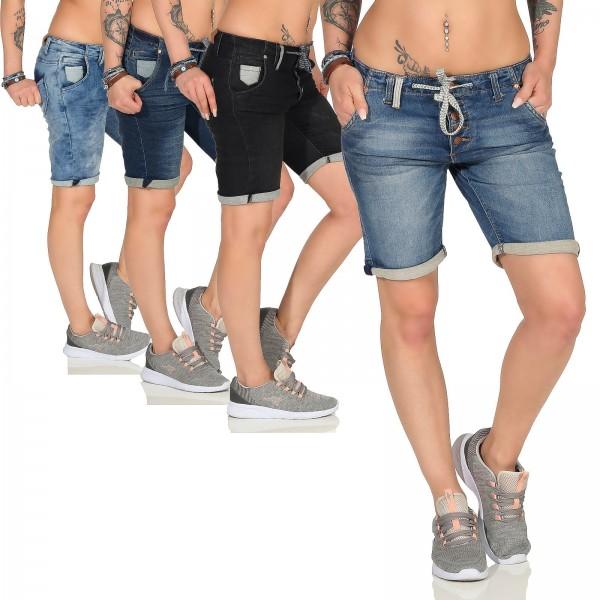 Eight2Nine Damen Jeans Shorts LETN-032