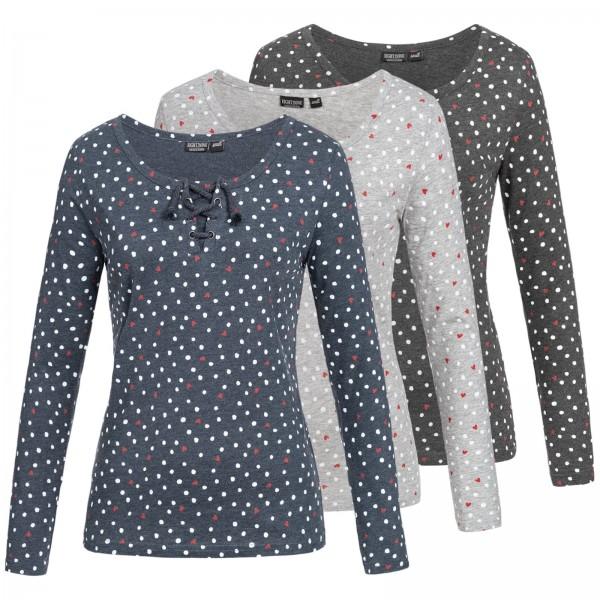Eight2Nine Damen Langarm Shirt LETN-036