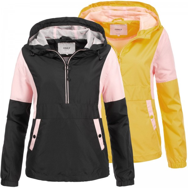 Only Damen Windbreaker Nadine Block