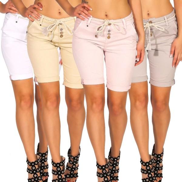 Eight2Nine Damen Chino Shorts LETN-031