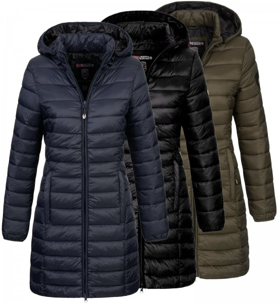 Geographical Norway Damen Steppmantel Areca