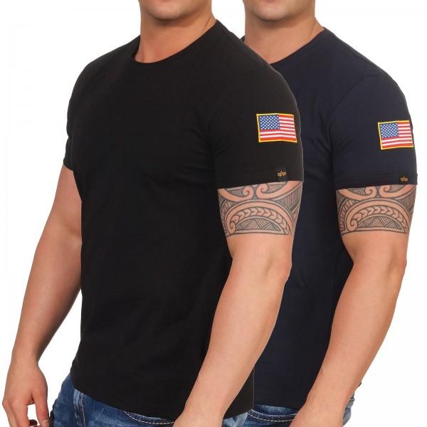 5f1a0349a25b6 Alpha Industries Herren T-Shirt NASA T 176506