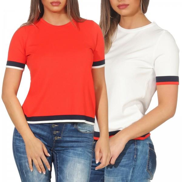 Only Damen T-Shirt Nola